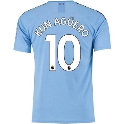 Домашняя футболка Манчестер Сити 19-20 Кун Агуэро
