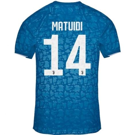 Третья футболка Ювентуса 2019-2020 Блез Матюиди номер 14