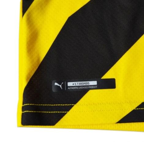 Детская домашняя форма Боруссии Санчо 2020-2021 футболка технология