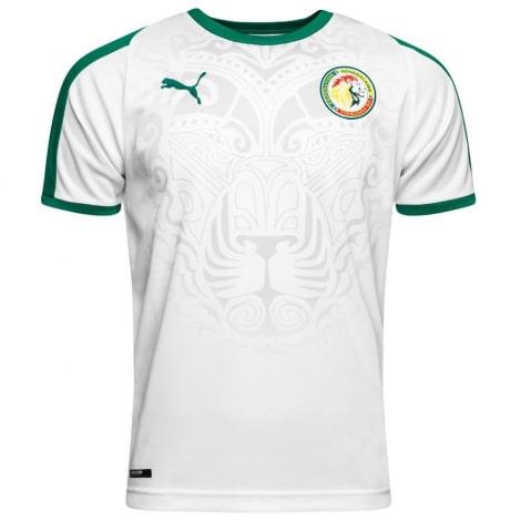 Домашняя футболка сборной Сенегала на чемпионат мира 2018