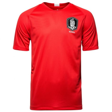 Красная домашняя футболка сборной Кореи на чемпионат мира 2018