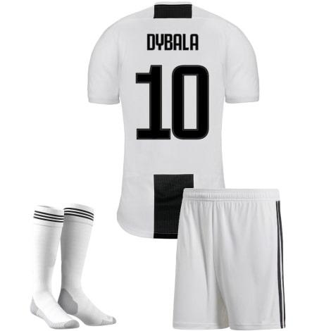 Детская домашняя футбольная форма Дибала 2018-2019 футболка шорты и гетры