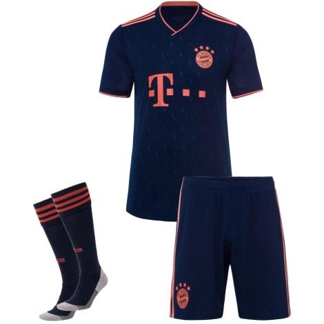 Взрослая третья футбольная форма Баварии 2019-2020 футболка шорты и гетры