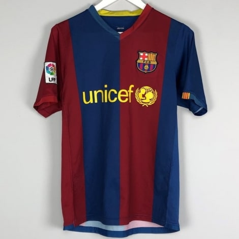 Домашняя ретро футболка Барселоны 2006-2007