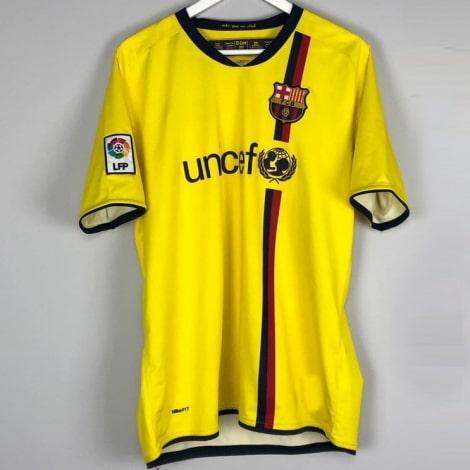 Гостевая ретро футболка Барселоны 2008-2009