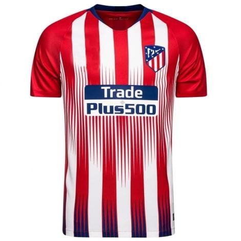 Домашняя игровая футболка Атлетико Мадрид 2018-2019