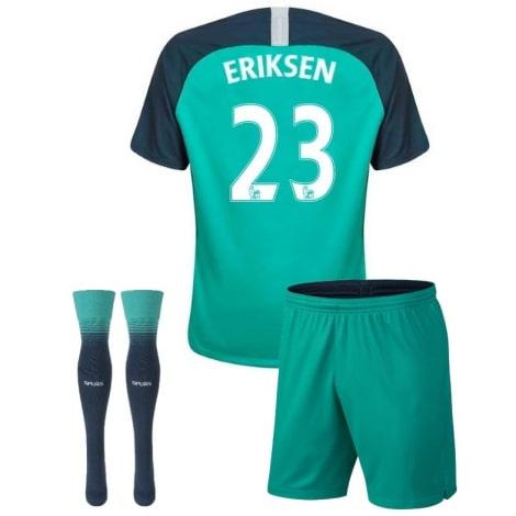 Детская третья форма Эриксен 2018-2019 футболка шорты и гетры