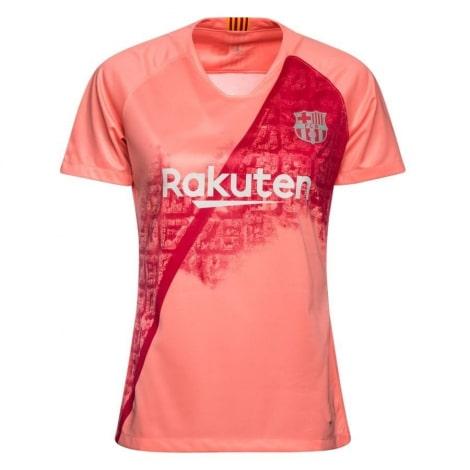 Женская третья футболка Барселоны 2018-2019