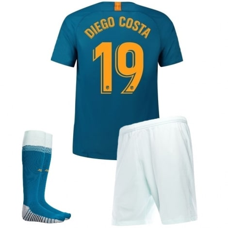 Детская третья футбольная форма Диего Коста 2018-2019 футболка шорты и гетры