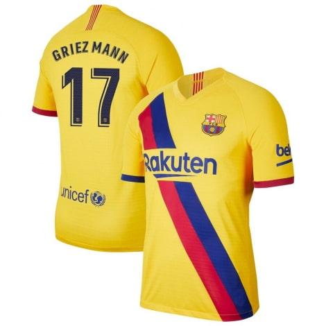 Гостевая футболка Барселоны 2019-2020 Антуан Гризманн
