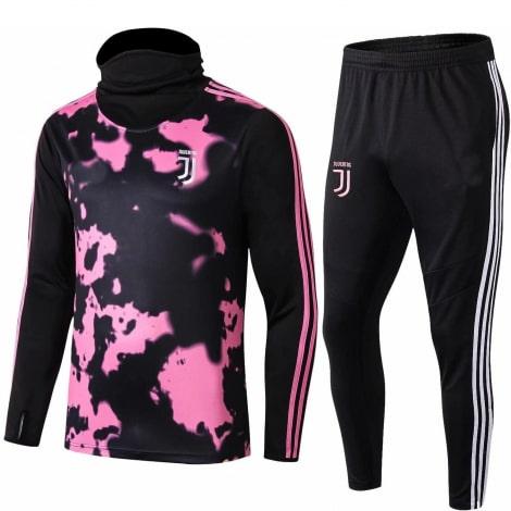Взрослый черно-розовый костюм Ювентуса 2019-2020
