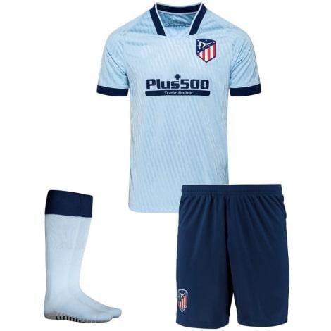 Комплект детской третьей формы Атлетико 2019-2020 футболка шорты и гетры
