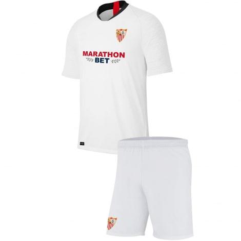 Комплект детской домашней формы Севильи 2019-2020 футболка и шорты