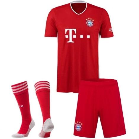 Комплект взрослой домашней формы Баварии 2020-2021 футболка шорыт и гетры
