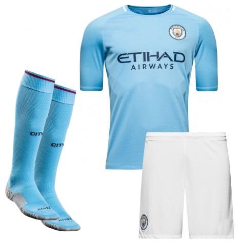 Домашняя футбольная форма Манчестер Сити 2017-2018
