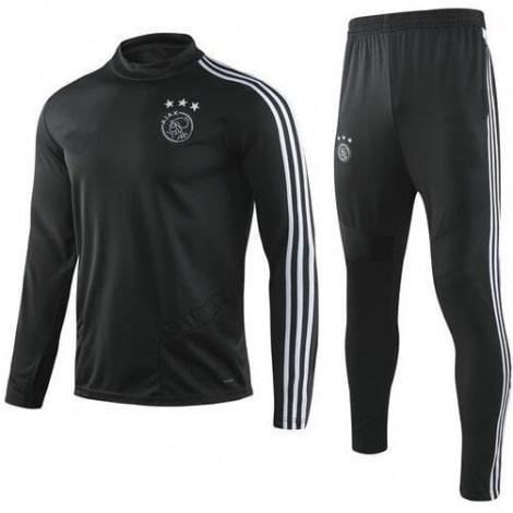 Детский черно-белый тренировочный костюм АЯКС 2019-2020