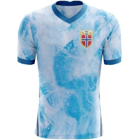 Гостевая футболка Норвегии на ЕВРО 2020-2021