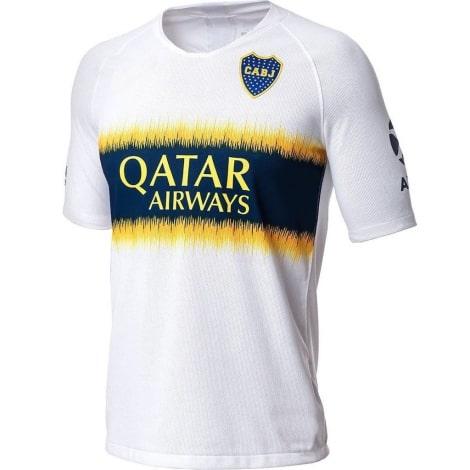 Гостевая игровая футболка Бока Хуниорс 2018-2019