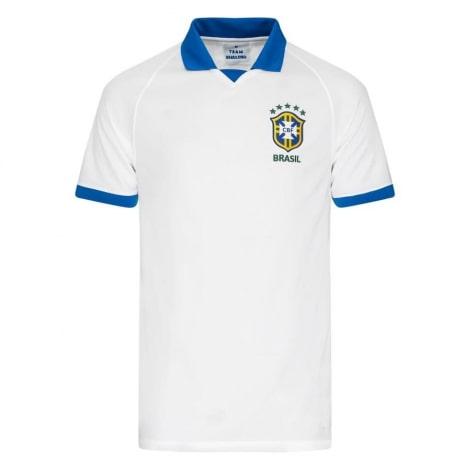 Гостевая игровая футболка сборной Бразилии 2019-2020