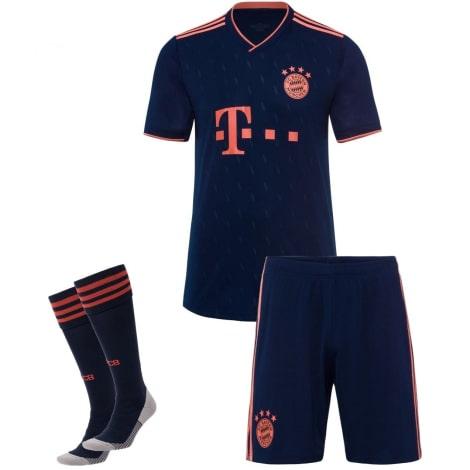 Детская третья футбольная форма Баварии 2019-2020
