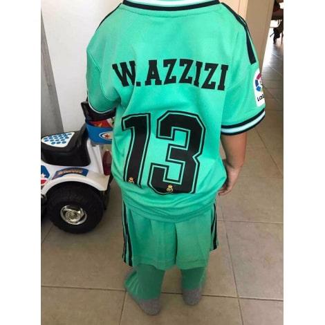 Детская третья футбольная форма Реал Мадрид 2019-2020 гетры со своей фамилией и номером