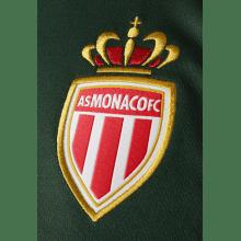 Гостевая игровая футболка Монако 2018-2019 герб клуба