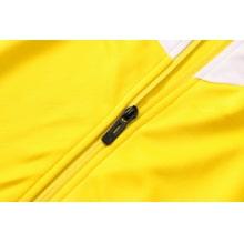 Черно-желтый тренировочный костюм Челси 2021-2022 молния
