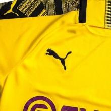 Домашняя футболка Боруссии Дортмунд 2019-2020 Марко Ройс номер 11 рукав бренд