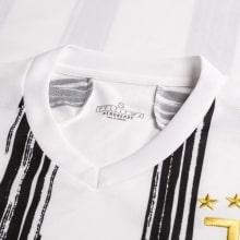 Домашняя игровая футболка Ювентуса 2020-2021 воротник