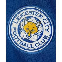 Комплект детской домашней формы Лестер Сити 2020-2021 футболка герб клуба