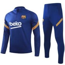 Синий костюм Барселоны 2020-2021