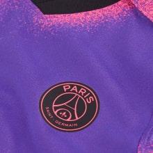 Детская четвертая форма ПСЖ Мбаппе 2020-2021 футболка герб клуба