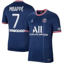 Домашняя футболка ПСЖ 2021-2022 Мбаппе