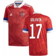Домашняя футболка России Головин ЕВРО 2020-2021