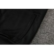 Черно-голубой спортинвый костюм Наполи 2021-2022 карман
