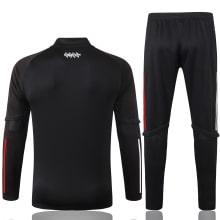 Черный спортивный костюм Бавария 2021-2022 сзади