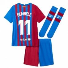Детская домашняя футбольная форма Дембеле 2021-2022