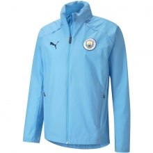 Синяя куртка ветровка Манчестер Сити 2021-2022