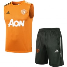 Желто-серая тренировочная форма Манчестер Юнайтед 2021-2022