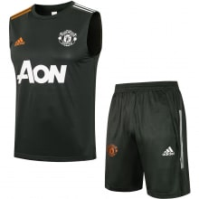Серая тренировочная форма Манчестер Юнайтед 2021-2022