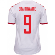 Третья футболка Арсенала Шкодран Мустафи номер 20 2018-2019