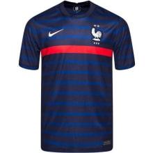 Домашняя аутентичная футболка Франции на ЕВРО 2020-21