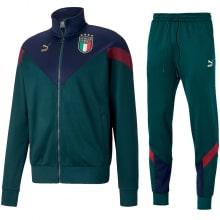 Зеленый костюм сборной Италии по футболу 2019-2020