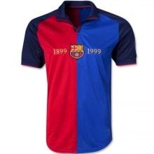 Домашняя ретро футболка Барселоны 1998-1999