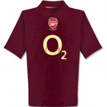 Домашняя ретро футболка Арсенала 2005-2006
