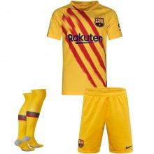 Комплект детской четвертой формы Барселоны 2019-2020