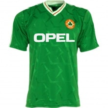 Домашняя ретро футболка сборной Ирландии 1990-1992