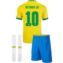 Детская домашняя форма Бразилии Неймар 2020-2021