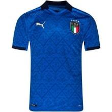 Домашняя аутентичная футболка Италии на ЕВРО 2020-21