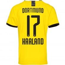 Детская домашняя форма Боруссии Холанн 2019-2020 футболка сзади